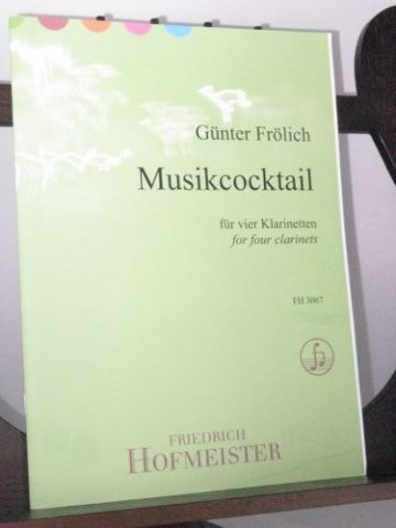 Frolich G - Musikcocktail for 4 Clarinets